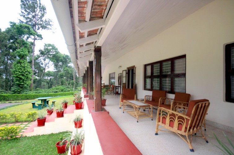 Verandah at Woshully Bungalow